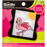 Flamingo Counted Cross Stitch Kit